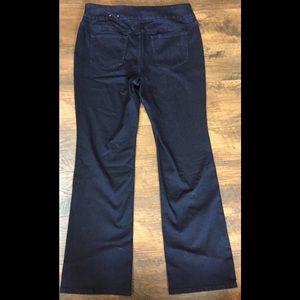 Chico's Jeans - Chico's Stretch Pull On Boot Cut Jeans~sz 2-12/14